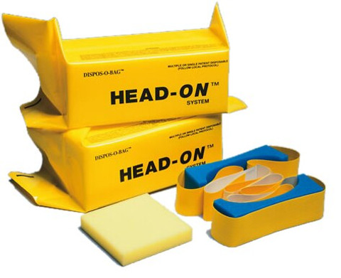 Compliance Head-On System Head Immobilizer