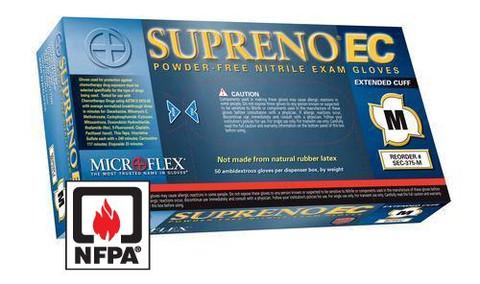 Microflex Supreno EC Powder Free Nitrile Glove