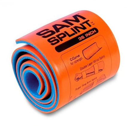 SAM Splint - Orange - Rolled