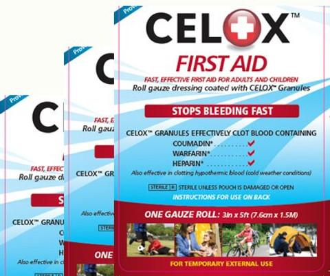 Celox First Aid Hemostatic Gauze Roll