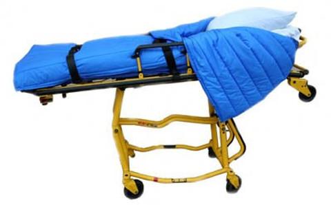 Ambulance Stretcher Patient Cover Cot Quilt Blanket - Deluxe