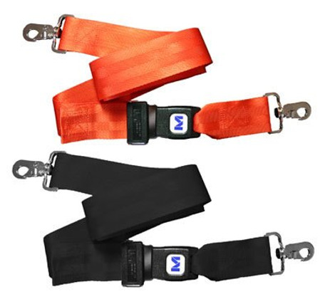 MM Nylon 2 pc. Metal Buckle & Speed Clip Spineboard Strap - 5'