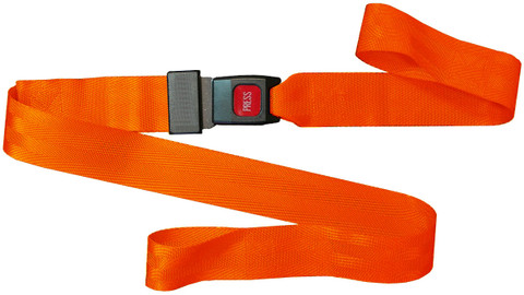 Nylon 2 pc. Metal Buckle & Loop End Spineboard Strap - 7'