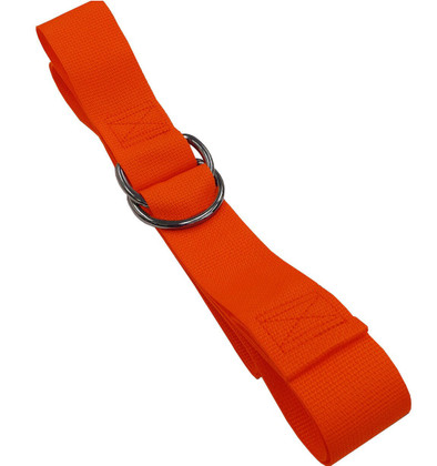 Nylon 1 pc. Double D-Ring Spineboard Strap - 9'