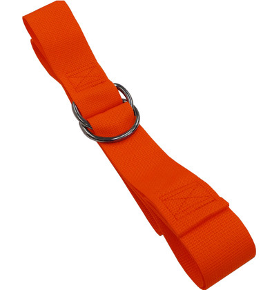 Poly 1 pc. Metal Double D-Ring Spineboard Strap - 9'