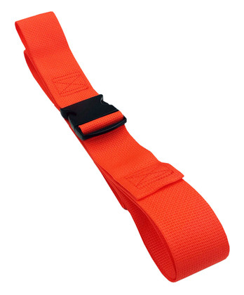 Poly 1 pc. Plastic Buckle Spineboard Strap - 7'