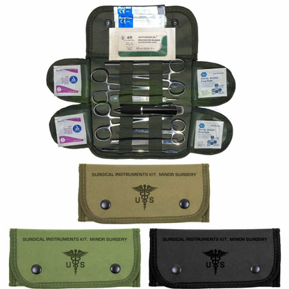 Surgical & Suture Kit with all colors