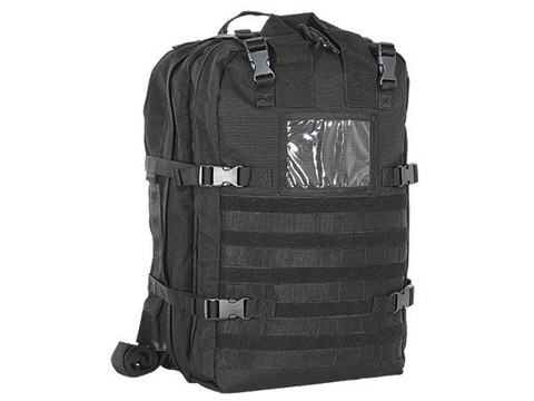 STOMP Medical First Aid Backpack Black