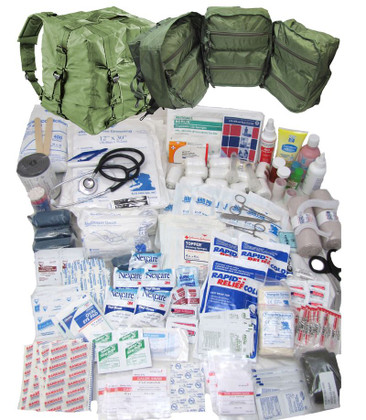 Military M17 Medical Bag - Full Kit some items may be changed or discontinued
