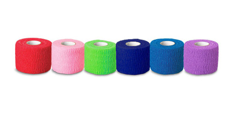 "Ever Guard Co-Flex Self Adherent Bandages - Colors (2"")"