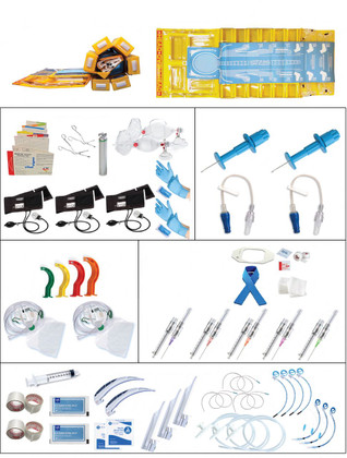 PediPro Pediatric Resuscitation System Kit - Roll Out