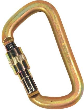 OD50 Rescue Carabiner - Screwgate - Gold