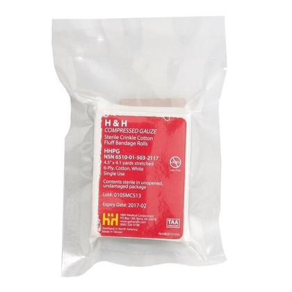 Compressed Gauze Bandage - 4.5 x 4.1 H&H