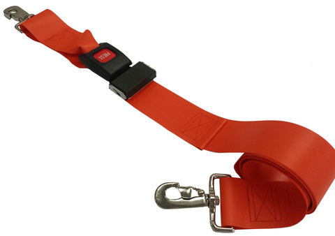 Impervious 2 pc. Metal Buckle & Speed Clip End Spineboard Strap - 5'
