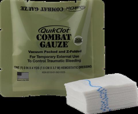 QuikClot Combat Gauze - Z Fold