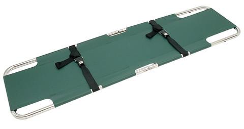 Junkin Easy-Fold Stretcher Green
