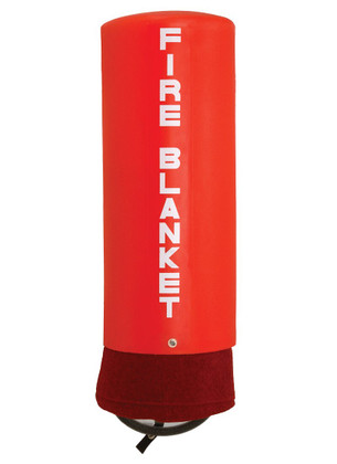 Junkin Fire Blanket PVC Canister - Rust Proof