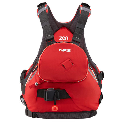 NRS Zen Rescue PFD - Red - Front