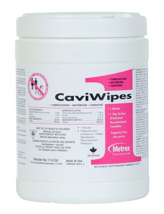 CaviWipes1 Canister - Regular - 160 Count