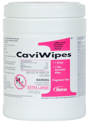 CaviWipes1 Canister - XL - 65 Count