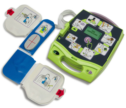 Zoll AED Plus Automated Defibrillator - Semi Auto. - Recertified
