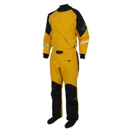 NRS Extreme Drysuit - Yellow - Left Side