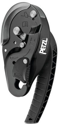 Petzl I'D L Belay Device NFPA - Black