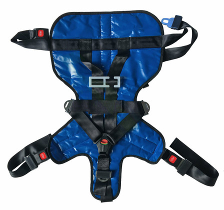 Deluxe Pediatric Child Restraint Seat System Front