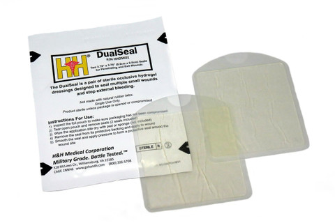 DualSeal Chest Seal - 2 Pack