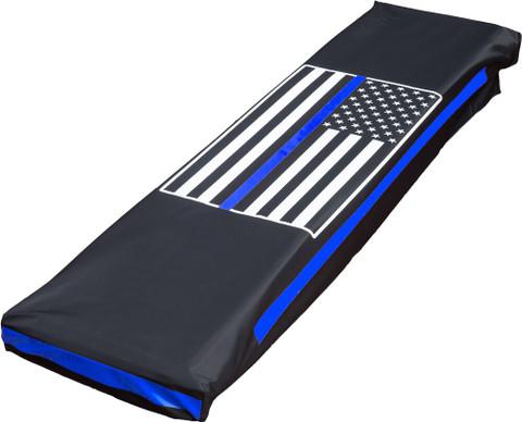 LAS Platinum Lightbar Cover - Police Support Flag
