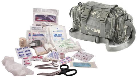 Military Elite First Aid Rapid Response Bag - Full Kit
