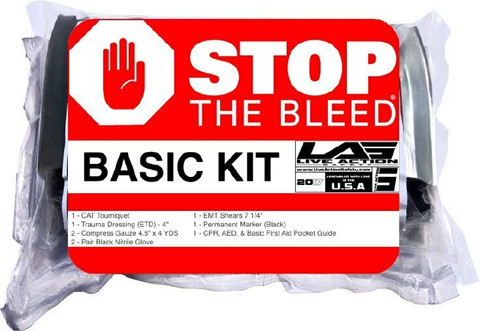 Public Access Bleeding Prevention Kit - BASIC package view