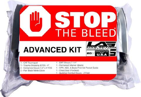 Public Access Bleeding Prevention Kit - ADVANCED in bag