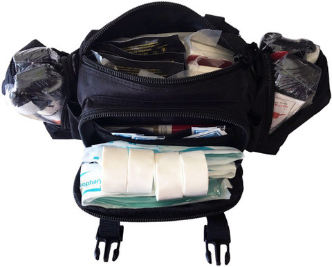 Mass Casualty Bleeding Prevention Kit - 2 Person open
