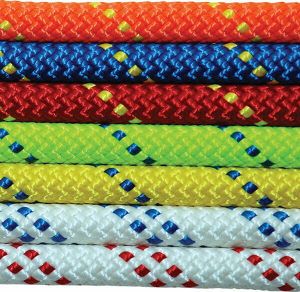 """Kernmantle NFPA Rescue Rope - 7/16""""all colors"""