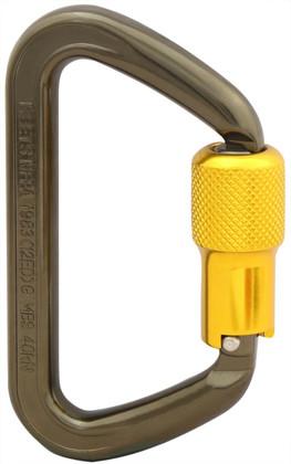 ISC ANSI Aluminum Wizard Carabiner - Twistlock