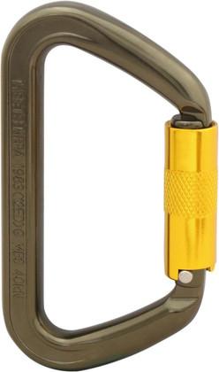 ISC NFPA Small Aluminum Wizard Carabiner - Twistlock