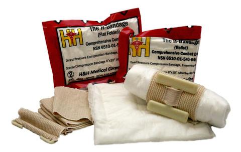 H-Bandage Compression Dressing - Flat Fold