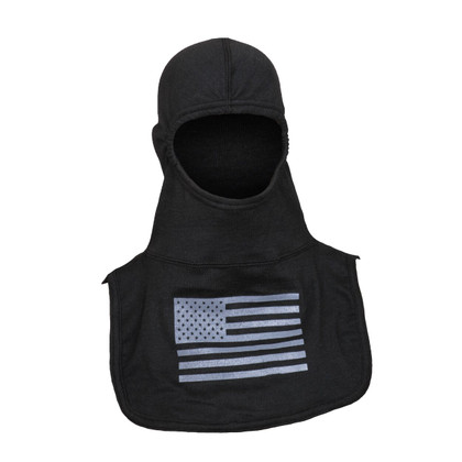 Majestic Pac II C6 American Flag Fire Hood