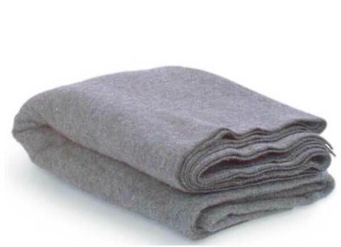 Fire Resistant/Retardant Wool Blanket - 52% Wool