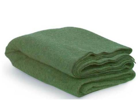 Fire Resistant/Retardant Wool Blanket - 80% Wool