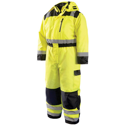 Occunomix High Visibility Winter Coverall - Class III