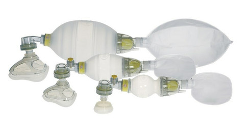 Laerdal Silicone Resuscitator Complete In Carton - Preterm