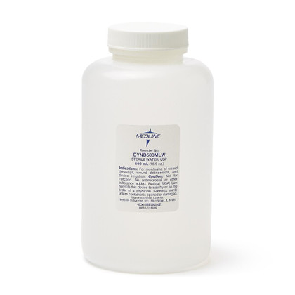 Medline Irrigation Solution -  Sterile Water 500ml