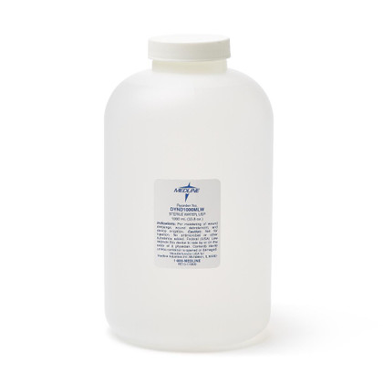 Medline Irrigation Solution -  Sterile Water 1000ml