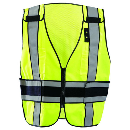 Occunomix DOR Deluxe Public Safety Plain Vest - H Back