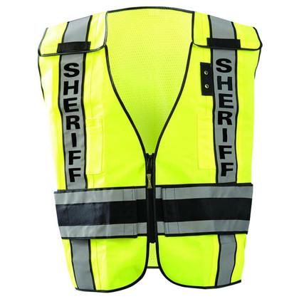 Occunomix DOR Deluxe Public Safety Sheriff Vest - H Back