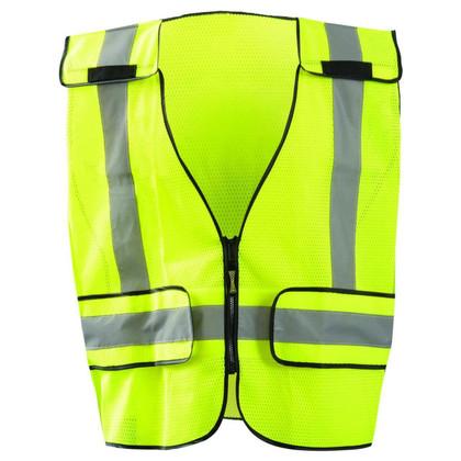 Occunomix DOR Public Safety Plain Mesh Vest - H Back