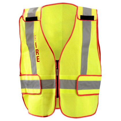 Occunomix DOR Public Safety Fire Mesh Vest - H Back