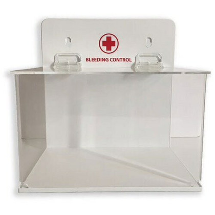 Clear Wall Mount Cabinet for Bleeding Control Kit